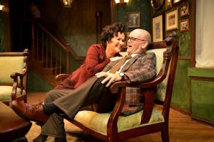 Sandra Birch as Martha and John Seibert as George