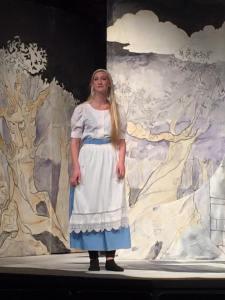 Hannah Watton as Rapunzel