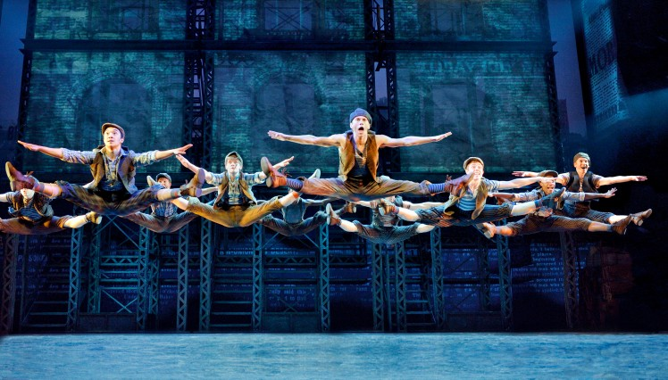 #S5 Newsies jump. ©Disney.  Photo by Deen van Meer.